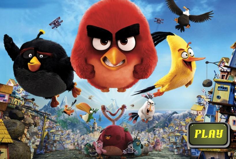 Angry Birds Trage cu Arcul
