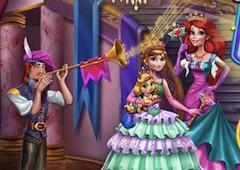 Anna si Ariel Printese la Bal