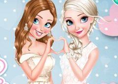 Anna si Elsa Domnisoare de Onoare…