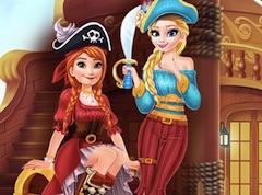 Anna si Elsa Pirati