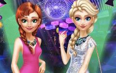 Anna si Elsa Seara in Oras