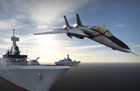 Antrenament cu Avionul de Lupta