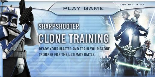 Antrenamentul Clonelor