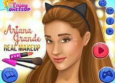 Ariana Grande Machiaj Real