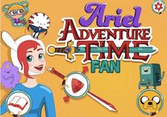 Ariel Fan Adventure Time