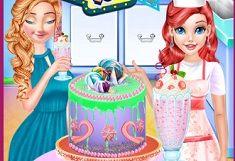 Ariel si Cofetaria cu Torturi