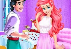 Ariel si Eric Intalnirea Romantica