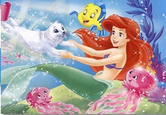 Ariel si Prietenii Puzzle