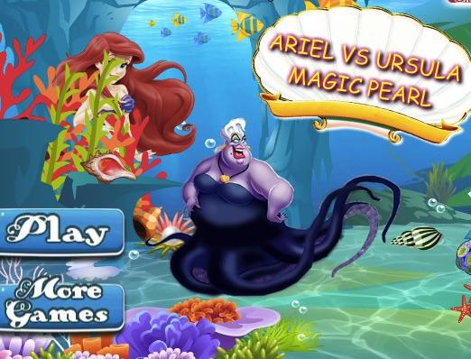 Ariel si Ursula Perla Neagra