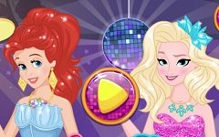 Ariel vs Elsa Fete Petrecarete