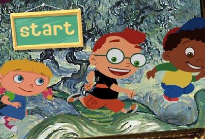 Arta cu Little Einsteins