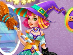Audrey Vrajitoare de Halloween