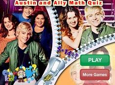 Austin si Ally Math Quiz