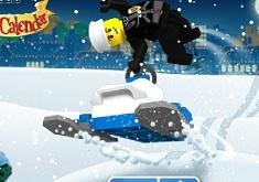 Aventura Lego cu Snowmobilul