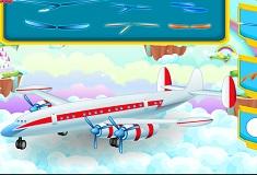 Avionul de Curatat si Reparat