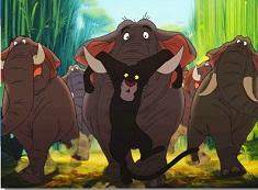 Bagheera si Elefantii Puzzle