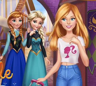 Barbie Calatorie la Arendelle