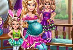 Barbie cu Bebelusi Gemeni