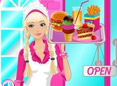 Barbie la Cafenea
