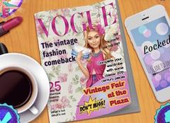 Barbie la Targul Vintage