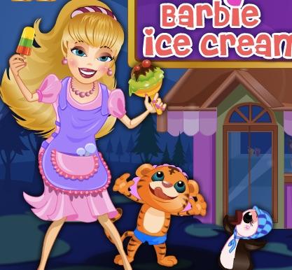 Barbie Magazinul de Inghetata