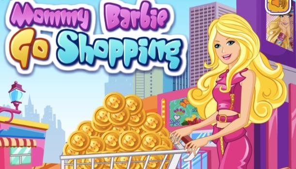 Barbie Mamica la Cumparaturi