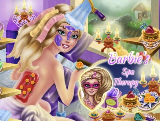 Barbie Terapie la Spa
