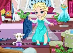 Bebelusa Elsa la Schi
