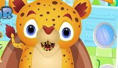 Bebelusul Jaguar la Dentist