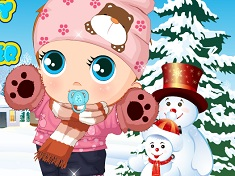 Bebelusul si Moda de Iarna