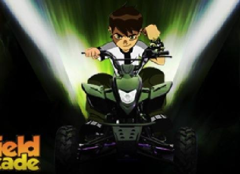 Ben 10 Curse cu ATV 3D