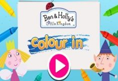 Ben si Holly Color In