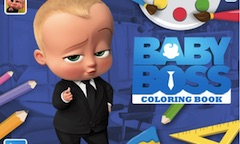 Boss Baby Carte de Colorat