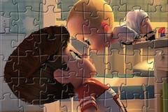 Boss Baby Puzzle cu Personaje