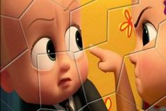 Boss Baby Puzzle Rotativ