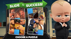 Boss Baby Slide Puzzle