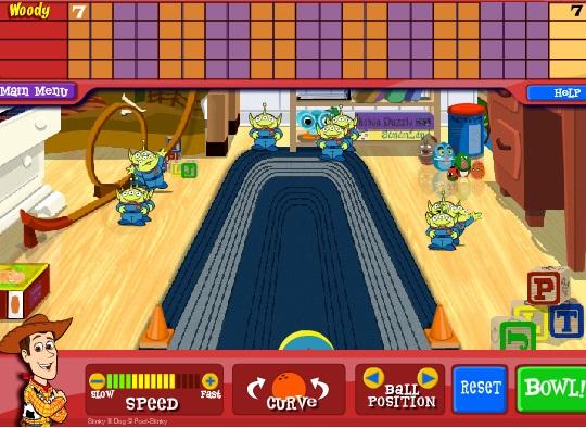 Bowling cu Povestea Jucariilor