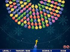 Bubble Shooter Rotativ de Craciun