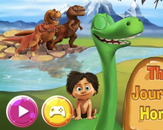 Bunul Dinozaur Drumul spre Casa