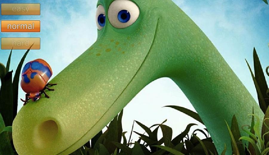Bunul Dinozaur Puzzle cu Gaze