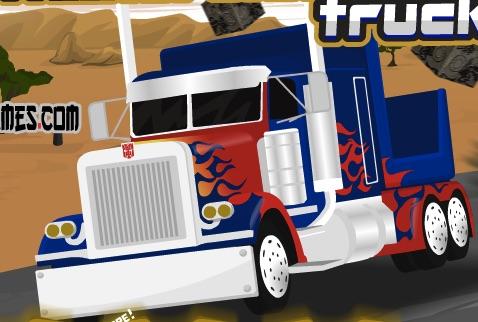Camionul Optimus Prime
