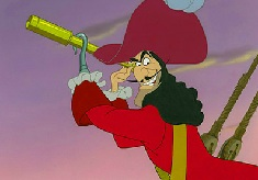 Capitanul Hook cu Binoclu