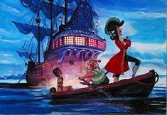 Capitanul Hook si Indianca