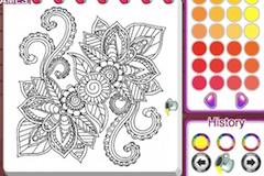 Carte de Colorat Mandala
