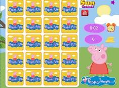 Carti de Memorie cu Peppa