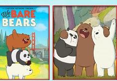 Carti de Memorie cu We Bare Bears