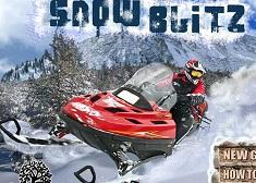 Cascadorii cu Snowmobilul