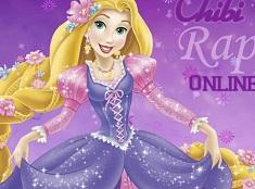 Chibi Rapunzel de Colorat