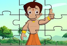 Chota Bheem Puzzle