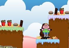 Clarence cu Batul Pogo